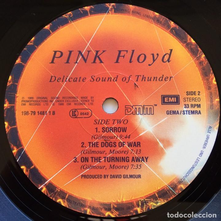 Discos de vinilo: Pink Floyd – Delicate Sound Of Thunder, 2 Vinyls Europe 1988 EMI - Foto 9 - 287178138