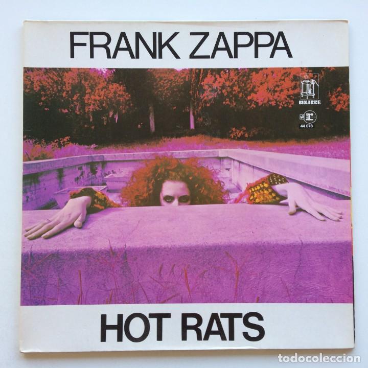 FRANK ZAPPA – HOT RATS, FRANCE 1976 REPRISE RECORDS (Música - Discos - LP Vinilo - Pop - Rock - Internacional de los 70)