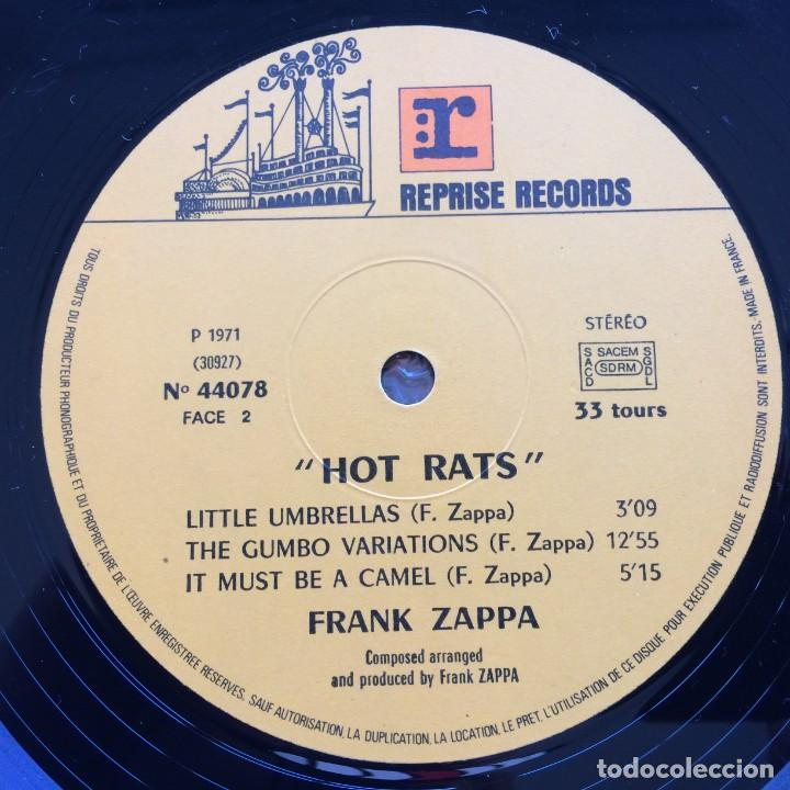 Discos de vinilo: Frank Zappa – Hot Rats, France 1976 Reprise Records - Foto 5 - 287178563
