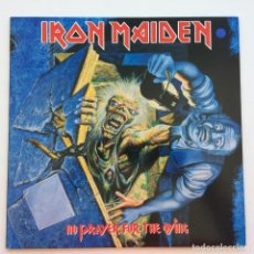 Discos de vinilo: IRON MAIDEN – NO PRAYER FOR THE DYING, EUROPE 1990 EMI. Lote 287180148