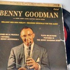 Discos de vinilo: E.P. (VINILO) DE BENNY GOODMAN AÑOS. Lote 287195698