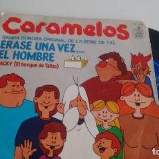 Discos de vinilo: SINGLE (VINILO) DE CARAMELOS AÑOS 70. Lote 287196493