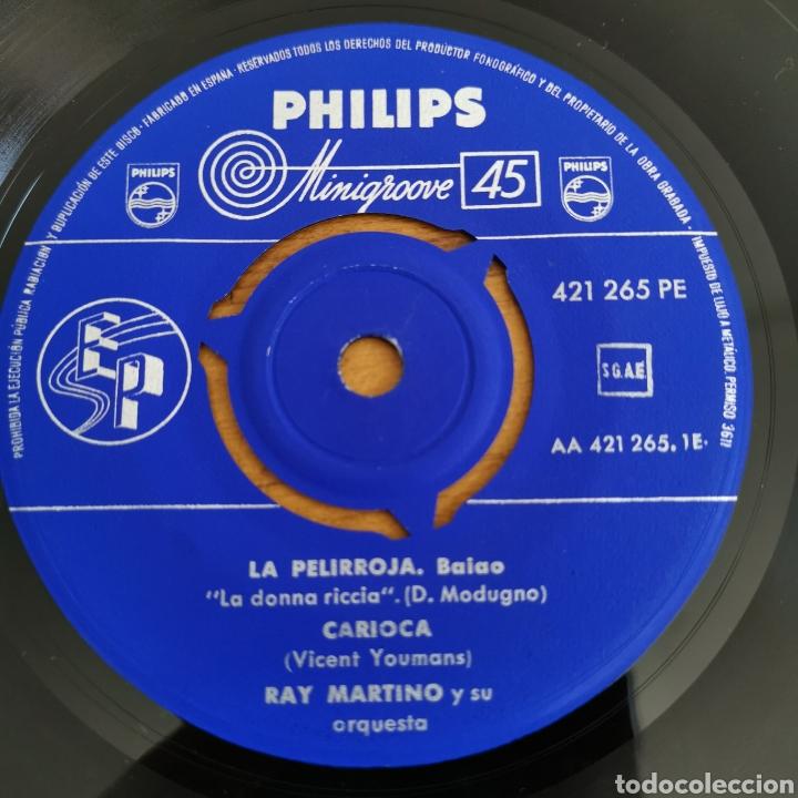 Discos de vinilo: Disco de Vinilo de 45rpm de Ray Martin o y su orquesta 1960s - Foto 2 - 287198663