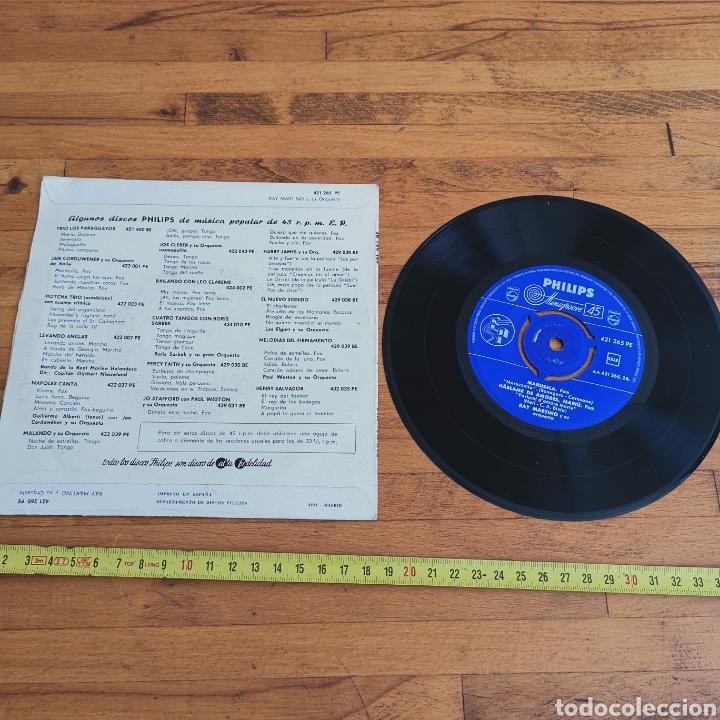 Discos de vinilo: Disco de Vinilo de 45rpm de Ray Martin o y su orquesta 1960s - Foto 3 - 287198663