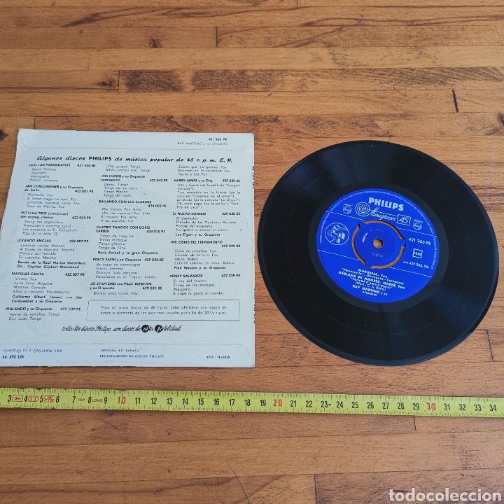 Discos de vinilo: Disco de Vinilo de 45rpm de Ray Martin o y su orquesta 1960s - Foto 4 - 287198663