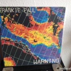 Discos de vinilo: FRANKIE PAUL - WARNING / LP 1987 ( REGGAE, DANCEHALL) USA. M- M. Lote 287211768