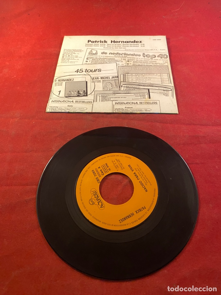 Discos de vinilo: PATRICK HERNANDEZ - Foto 2 - 287212763