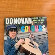 Discos de vinilo: DONOVAN - COLOURS EP. Lote 287218318