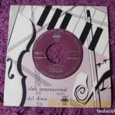 "Discos de vinilo: LUIGI BOCCHERINI / J. S. BACH – MINUETTO VINYL, 7"", SINGLE SPAIN CID 171. Lote 287220453"