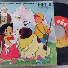 Discos de vinilo: HEIDI-SINGLE-GATEFOLD. Lote 287230073
