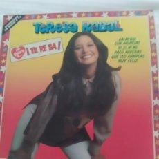 Discos de vinilo: DISCO VINILO TERESA RABAL YO QUIERO A TERESA. Lote 287244453