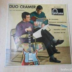 """Discos de vinilo: DUO CRAMER CON """"LOS RELAMPAGOS"""", EP, MI TALISMÁN + 3, AÑO 1963. Lote 287248558"""
