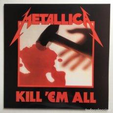 Discos de vinilo: METALLICA – KILL 'EM ALL, UNOFFICIAL, BLUE, FRANCE 2011 MUSIC FOR NATIONS. Lote 287249808