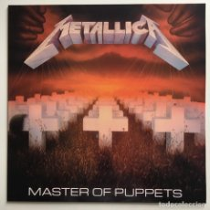 Discos de vinilo: METALLICA – MASTER OF PUPPETS, UNOFFICIAL, MUSIC FOR NATIONS. Lote 287250163