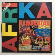 Discos de vinilo: AFRIKA BAMBAATAA – JUST GET UP AND DANCE (REMIX), ITALY 1997 DFC. Lote 287251973