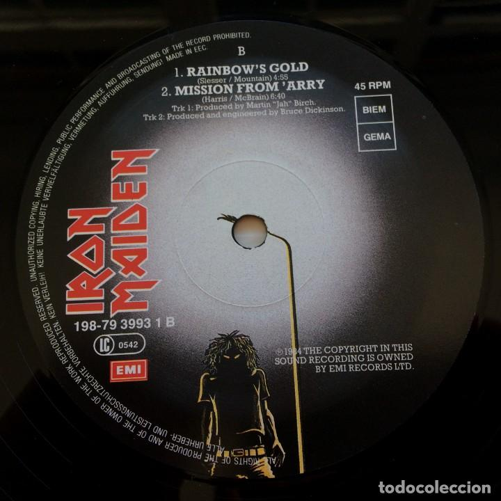 Discos de vinilo: Iron Maiden – 2 Minutes To Midnight · Aces High, 2 Vinyls 12 Limited Edition Europe 1990 - Foto 5 - 287254043