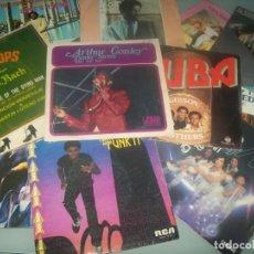 Discos de vinilo: LOTE DE 15 DISCOS SINGLES DE MUSICA BLACK - FUK , SONIDO DISCO ..ETC - AÑOS 70 Y 80. Lote 287254633