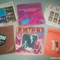 Discos de vinil: LOTE DE SINGLES DE HUMAN LEAGUE Y VARIOS DE TECNO -POP - 6 EN TOTAL JOHN FOXX DRAN DURAN - AÑOS 80. Lote 287255278