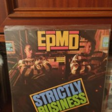 Discos de vinilo: EPMD / STRICTLY BUSINESS / NOT ON LABEL. Lote 287262788