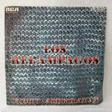 Discos de vinilo: SINGLE LOS RELAMPAGOS - JAIME I / ABDERRAMAN - ESPAÑA - AÑO 1969. Lote 287314838