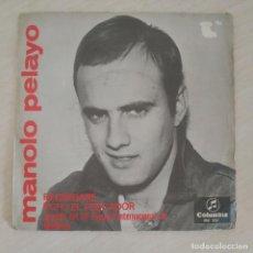 Discos de vinilo: MANOLO PELAYO - RUFO EL PESCADOR (III FESTIVAL DE MALLORCA) / REGRESARE (SINGLE 1966) VINILO NUEVO. Lote 287320573