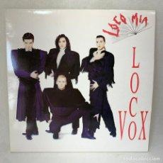 Discos de vinilo: LP - VINILO LOCO MIA - LOCO VOX + ENCARTE - ESPAÑA - AÑO 1991. Lote 287326908