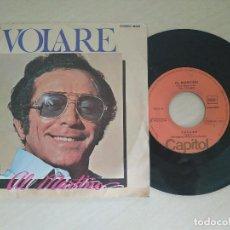 Discos de vinilo: AL MARTINO - VOLARE / MARY GO LIGHTLY - SINGLE CAPITOL DE 1976 SPAIN. Lote 287328958
