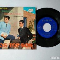 Discos de vinilo: LOS TOP-SON - EP - JERSEY AZUL + 3 - LA VOZ DE SU AMO 7EPL 14.018 - VER FOTOS Y DESCRIPCION. Lote 287338288