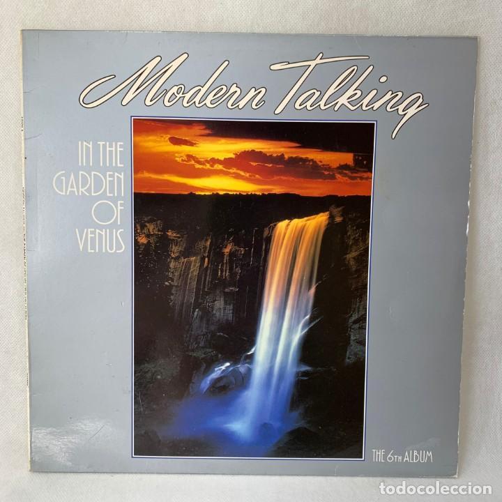 LP - VINILO MODERN TALKING - IN THE GARDEN OF VENUS - THE 6TH ALBUM - ESPAÑA - AÑO 1987 (Música - Discos - LP Vinilo - Pop - Rock - New Wave Internacional de los 80)