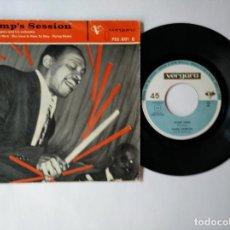 Discos de vinilo: LIONEL HAMPTON - EP - THE MESS IS HERE + 2 - VERGARA 75 2 001 - VER FOTOS Y DESCRIPCION. Lote 287347488