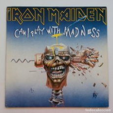 Discos de vinilo: IRON MAIDEN – CAN I PLAY WITH MADNESS, EUROPE 1988 EMI. Lote 287350528