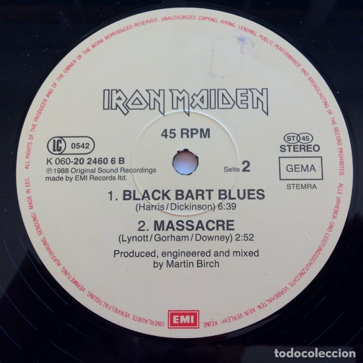 Discos de vinilo: Iron Maiden – Can I Play With Madness, Europe 1988 EMI - Foto 4 - 287350528