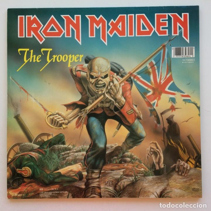 Discos de vinilo: Iron Maiden – Flight Of Icarus · The Trooper, 2 Vinyls 12 Limited Edition Europe 1990 EMI - Foto 2 - 287351978