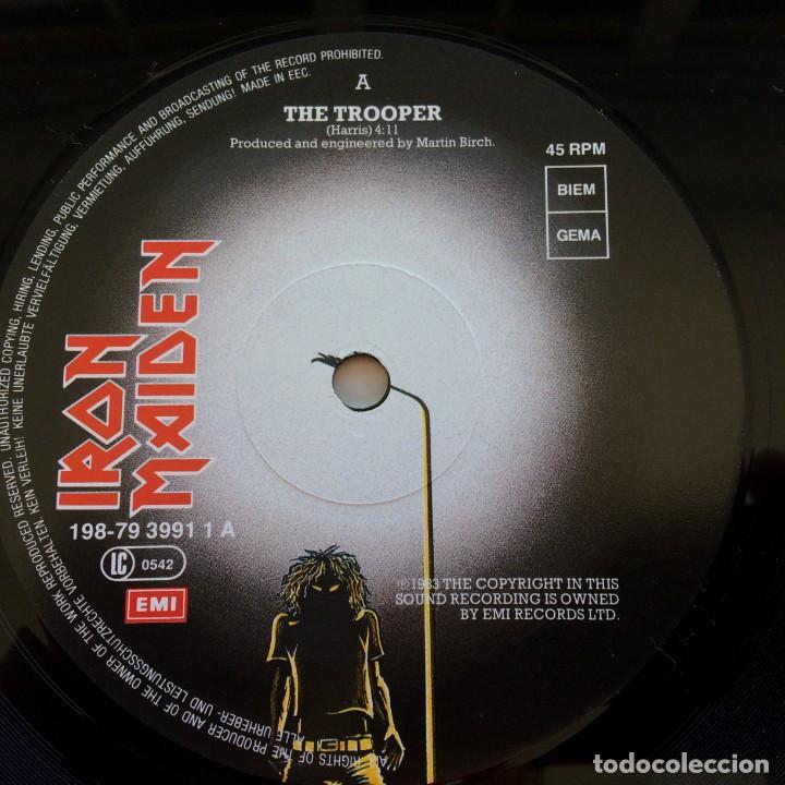 Discos de vinilo: Iron Maiden – Flight Of Icarus · The Trooper, 2 Vinyls 12 Limited Edition Europe 1990 EMI - Foto 3 - 287351978