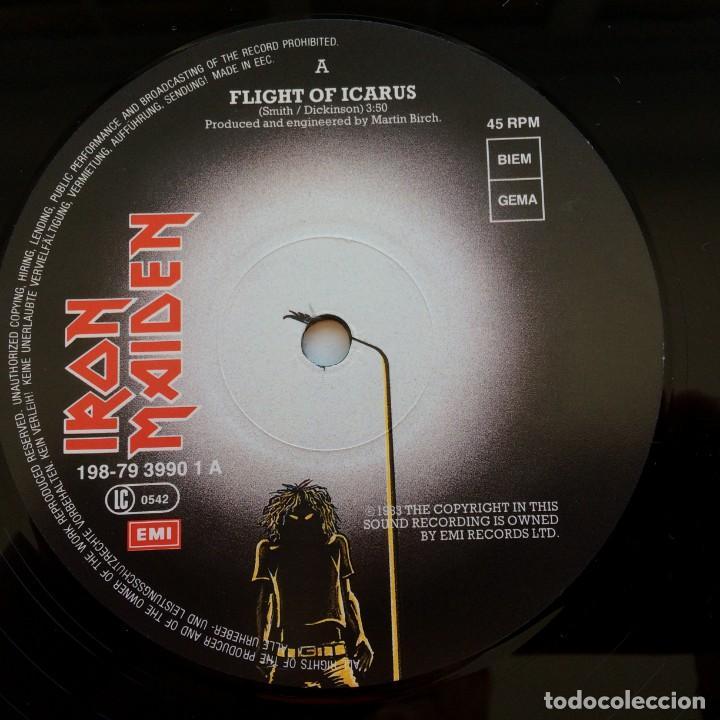 Discos de vinilo: Iron Maiden – Flight Of Icarus · The Trooper, 2 Vinyls 12 Limited Edition Europe 1990 EMI - Foto 5 - 287351978