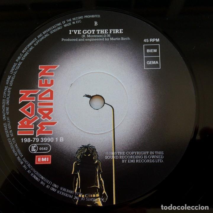 Discos de vinilo: Iron Maiden – Flight Of Icarus · The Trooper, 2 Vinyls 12 Limited Edition Europe 1990 EMI - Foto 6 - 287351978