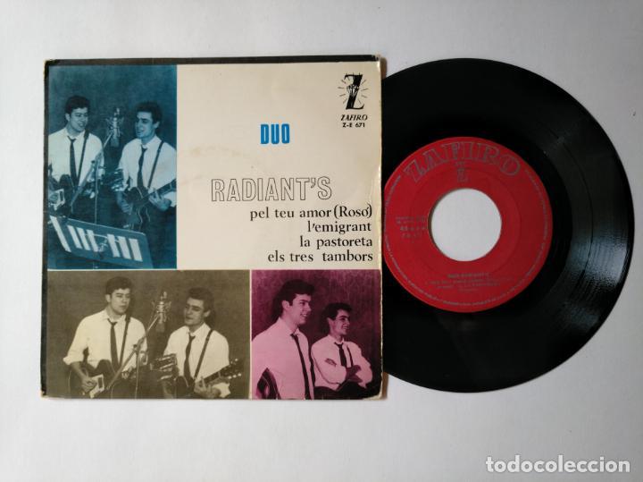 DUO RADIANT'S - EP - PEL TEU AMOR + 3 - ZAFIRO Z E 671 - VER FOTOS Y DESCRIPCION (Música - Discos de Vinilo - EPs - Solistas Españoles de los 50 y 60)