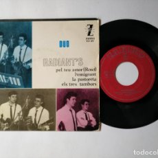 Discos de vinilo: DUO RADIANT'S - EP - PEL TEU AMOR + 3 - ZAFIRO Z E 671 - VER FOTOS Y DESCRIPCION. Lote 287355048