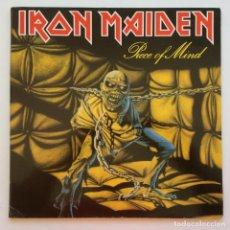 Discos de vinilo: IRON MAIDEN – PIECE OF MIND, EUROPE 1983 EMI. Lote 287356093
