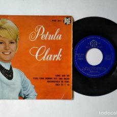 Disques de vinyle: PETULA CLARK - EP - TIENES QUE SER + 3 - RCA PYEP 2051 - VER FOTOS Y DESCRIPCION. Lote 287356693