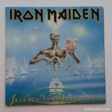 Discos de vinilo: IRON MAIDEN – SEVENTH SON OF A SEVENTH SON, FRANCE 1988 EMI. Lote 287357558