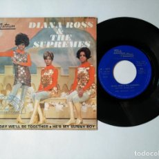 Disques de vinyle: DIANA ROSS & THE SUPREMES - SINGLE - SOMEDAY WELL BE TOGETHER +1 - TAMLA MOTOWN - VER FOTOS Y DESCR. Lote 287358013
