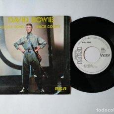 Discos de vinil: DAVID BOWIE - PROMOCIONAL - ALABAMA SONG + 1 - RCA PB 9510 - VER FOTOS Y DESCRIPCION. Lote 287359488