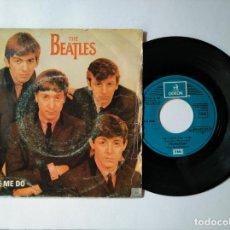 Disques de vinyle: THE BEATLES - SINGLE PROMO - LOVE ME DO + 1 - EMI 10C 006 005265 - VER FOTOS Y DESCRIPCION. Lote 287361983