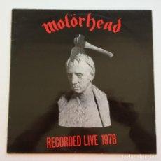 Discos de vinilo: MOTÖRHEAD – WHAT'S WORDS WORTH?, SWEDEN 1983 BIG BEAT RECORDS. Lote 287362608
