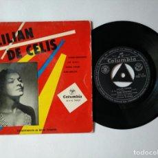 Discos de vinilo: LILIAN DE CELIS - EP - CUADROS DISOLVENTES + 3 - COLUMBIA ECGE 70727 - VER FOTOS Y DESCRIPCION. Lote 287362848