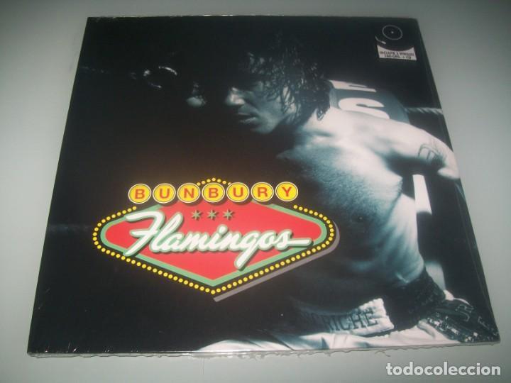 BUNBURY - FLAMINGOS .. 2 LP + CD - 2021 - NUEVO Y PRECINTADO EX HEROES DEL SILENCIO (Música - Discos - LP Vinilo - Solistas Españoles de los 70 a la actualidad)