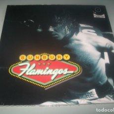 Discos de vinilo: BUNBURY - FLAMINGOS .. 2 LP + CD - 2021 - NUEVO Y PRECINTADO EX HEROES DEL SILENCIO. Lote 287365028