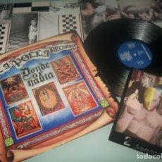 Discos de vinilo: LA POLLA RECORDS - DONDE SE HABLA .. LP DE..1ª EDICIN 1988 - OIHUKA COMPLETO - ENCARTE - CON POSTAL. Lote 287366088