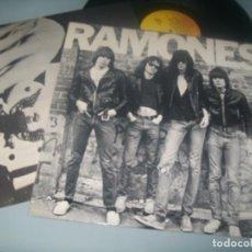 Discos de vinilo: RAMONES - RAMONES 1980 ..LP DE 1980 ..1º EDICION CON LETRAS S 60.514 - ESPAÑOL. Lote 287368178